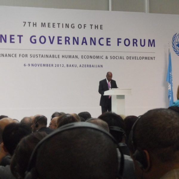 The Opening Ceremony of the IGF 2012