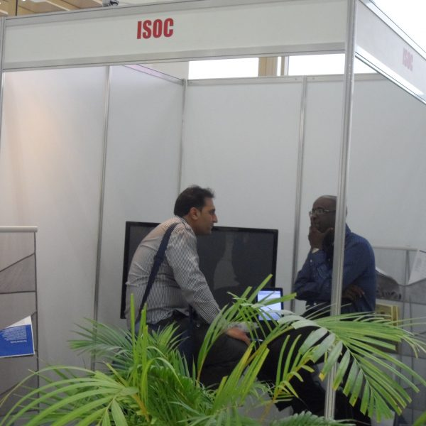 ISOC booth at Baku - Expo Centre - Experience