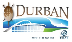 ICANN 47 meeting in Durban, South Africa