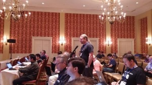 Jan Zorz presenting at IETF90 OpsAWG