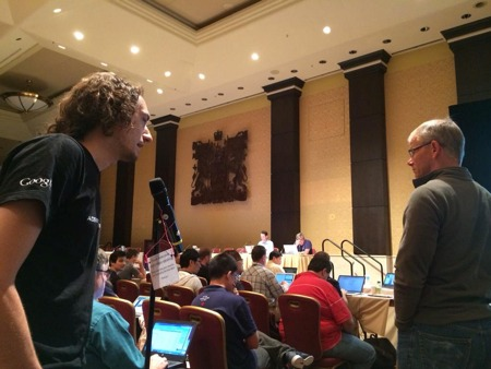 IETF 90 microphone discussion