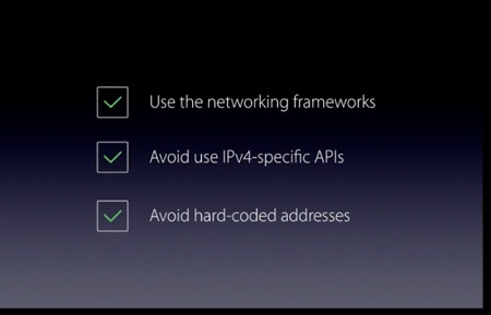 3 steps to make an app work with IPv6