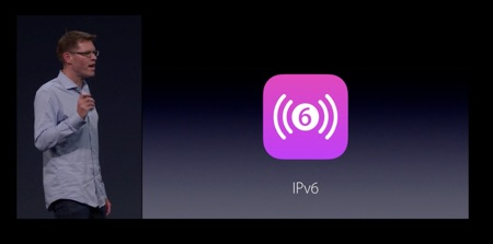 Apple IPv6 support