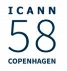 ICANN 58 Logo