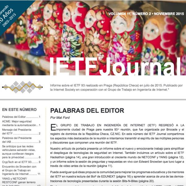 El IETF habla en español