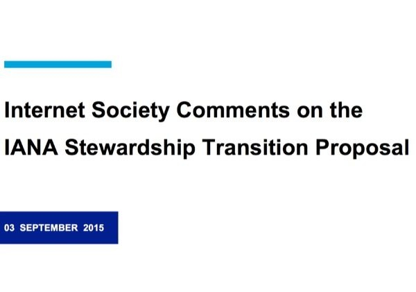 Globalizing IANA: The Internet Society Submits Comments to the ICG