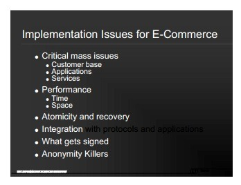Implementation Issues for E-Commerce Thumbnail