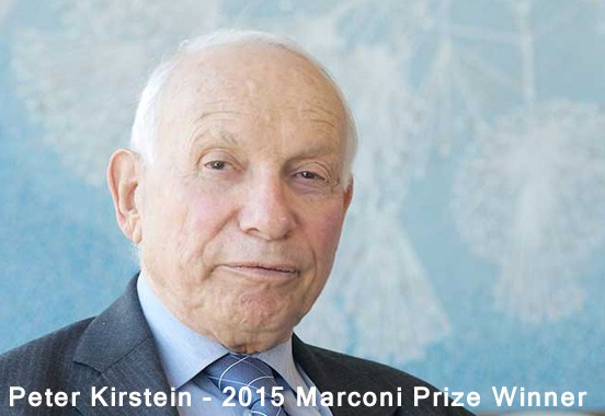 Marconi Prize Awarded to Peter Kirstein; Symposium Discusses Internet of Things Thumbnail