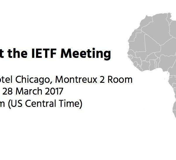 Save the Date- Africans @ IETF 98- 28 March, 8-9 am (US CDT)