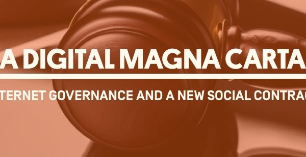 Watch Live On March 26 - A Digital Magna Carta: Internet Governance and a New Social Contract