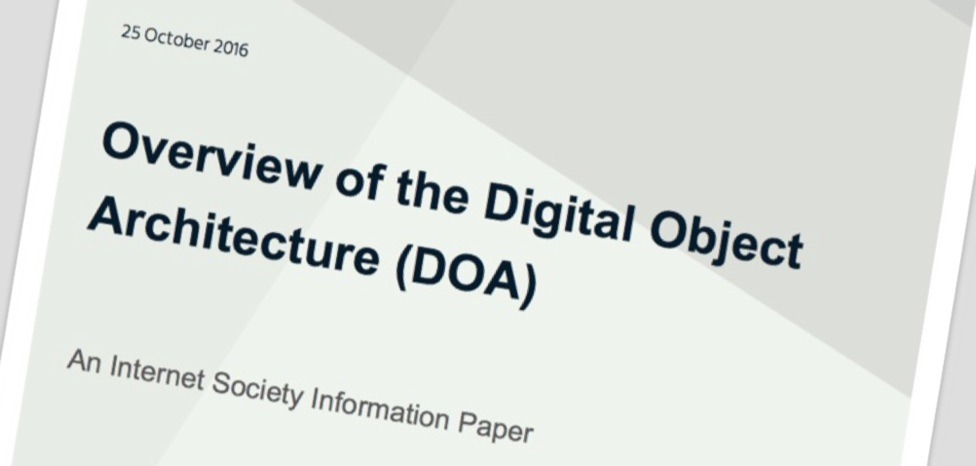 What is the Digital Object Architecture (DOA)? Read our new information paper. Thumbnail