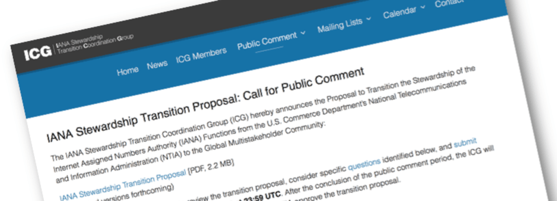 The IANA Stewardship Transition – Now Is The Time To Share Your Views! Thumbnail