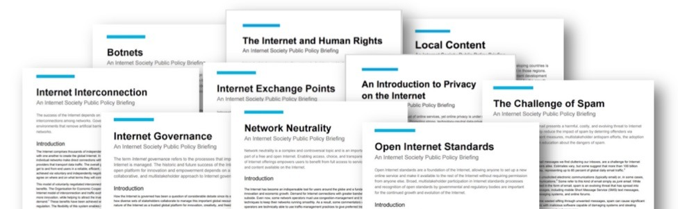 Internet Society's New Policy Brief Series Provides Concise Information On Critical Internet Issues Thumbnail