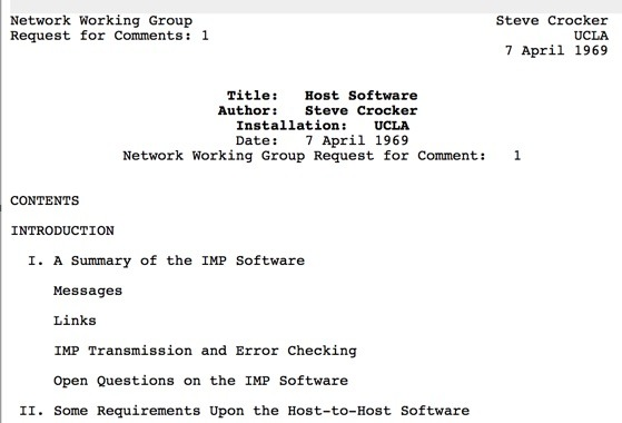 46 Years of RFCs  (Celebrating The Anniversary of RFC 1) Thumbnail