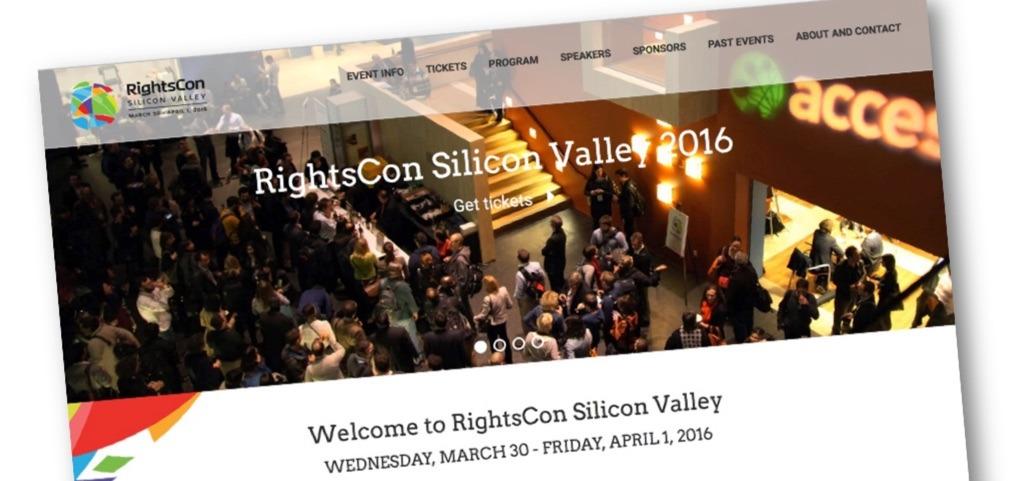 Join us at RightsCon 2016! Thumbnail
