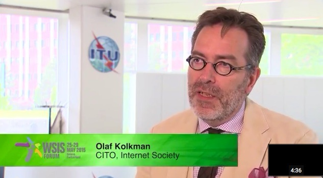 Video Interview:  Olaf Kolkman at WSIS Forum Discussing Collaborative Security and more… Thumbnail