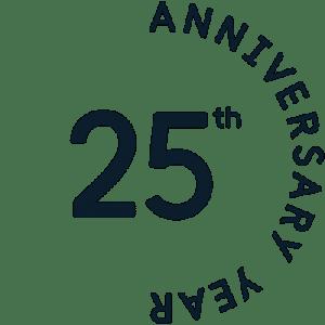 ISOC 25th Anniversary Badge