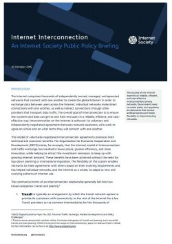 Internet Interconnection cover thumbnail