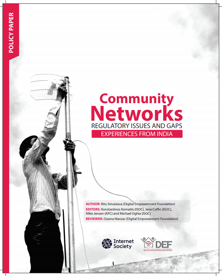 Community Networks: Regulatory issues and gaps - Experiences from