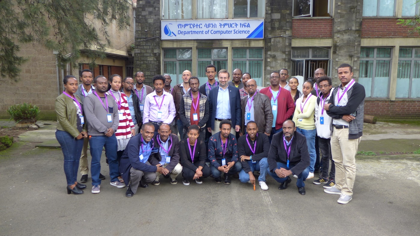 First Practical Workshop on IoT to Increase Awareness and Interest in Ethiopian Universities Thumbnail