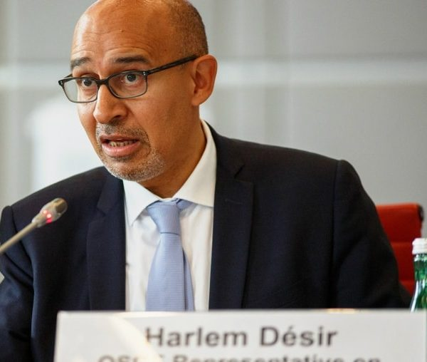Future Thinking: Harlem Désir on Freedom of Expression Online