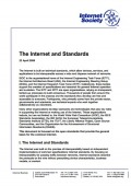 The Internet and Standards thumbnail
