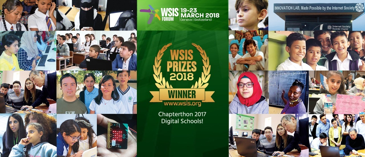 Chapterthon Wins 2018 WSIS Prize for International and Regional Cooperation Thumbnail