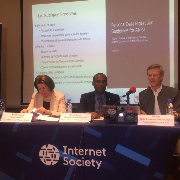 L'Internet Society et la Commission de l'Union africaine lancent des lignes directrices sur la protection des données personnelles en Afrique