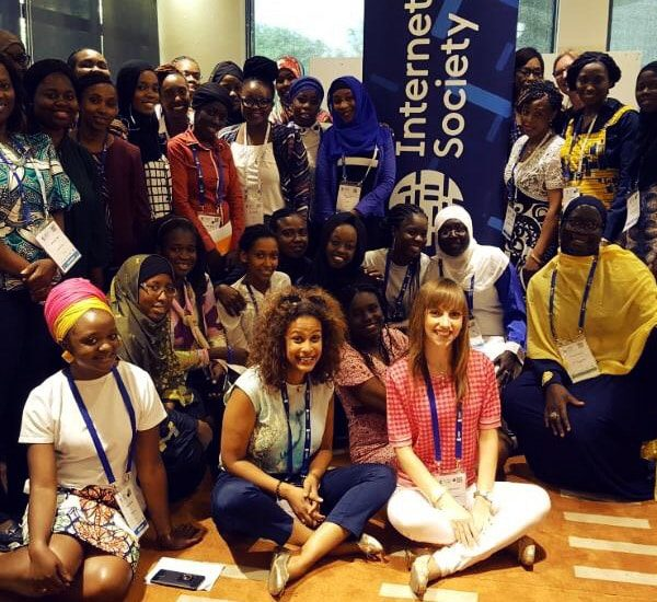 Women in Africa Call for a Trusted and Inclusive Internet