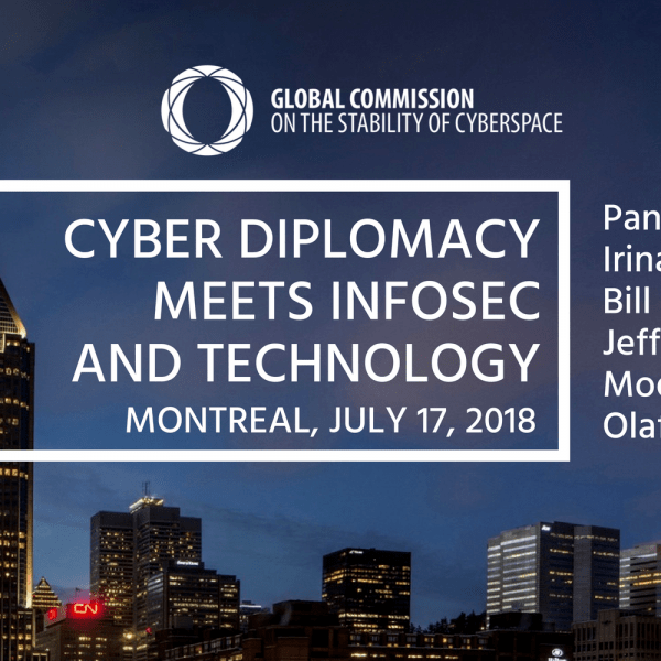 "Registro abierto para ""Cyber Diplomacy Meets InfoSec and Technology"" junto al IETF 102 Thumbnail"