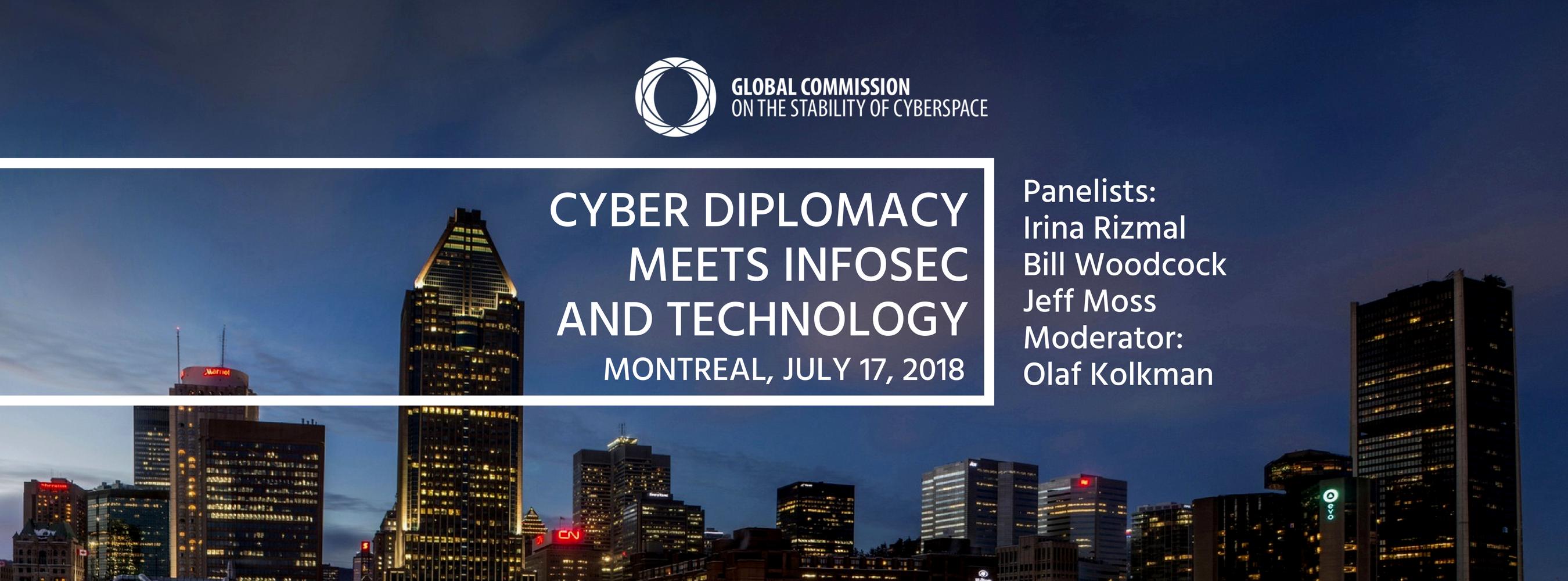 """Inscriptions sont ouvertes pour """"Cyber Diplomacy Meets InfoSec and Technology"""" en même temps que le IETF 102 Thumbnail"""