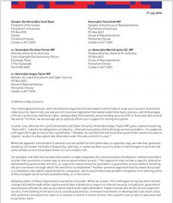 Australia-Encryption-Coalition-Letter thumbnail