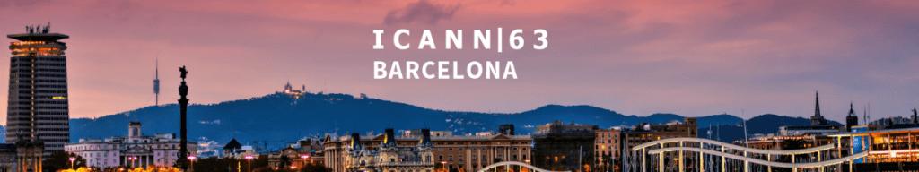 ICANN 63 banner image