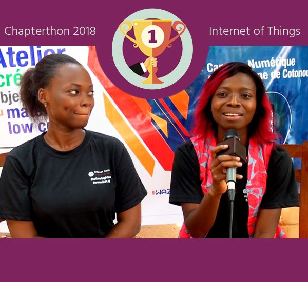 The Benin Chapter Wins Chapterthon 2018