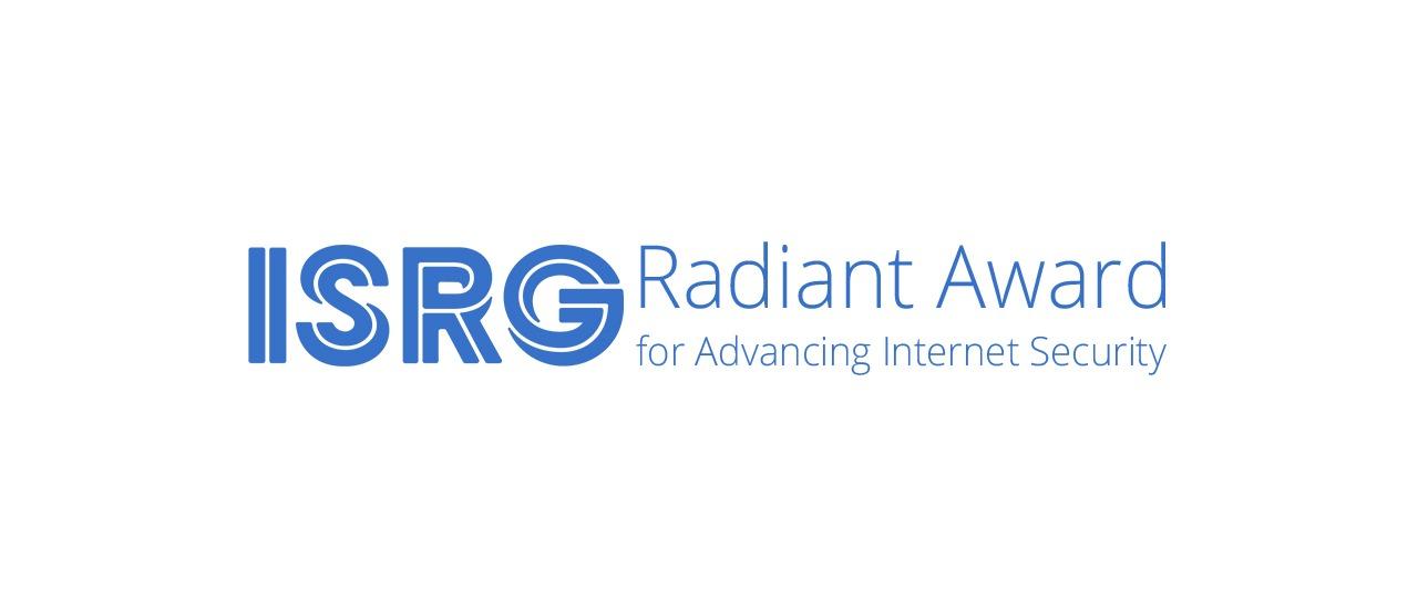 Jason Donenfeld, galardonado con el premio Radiant Award del ISRG Thumbnail