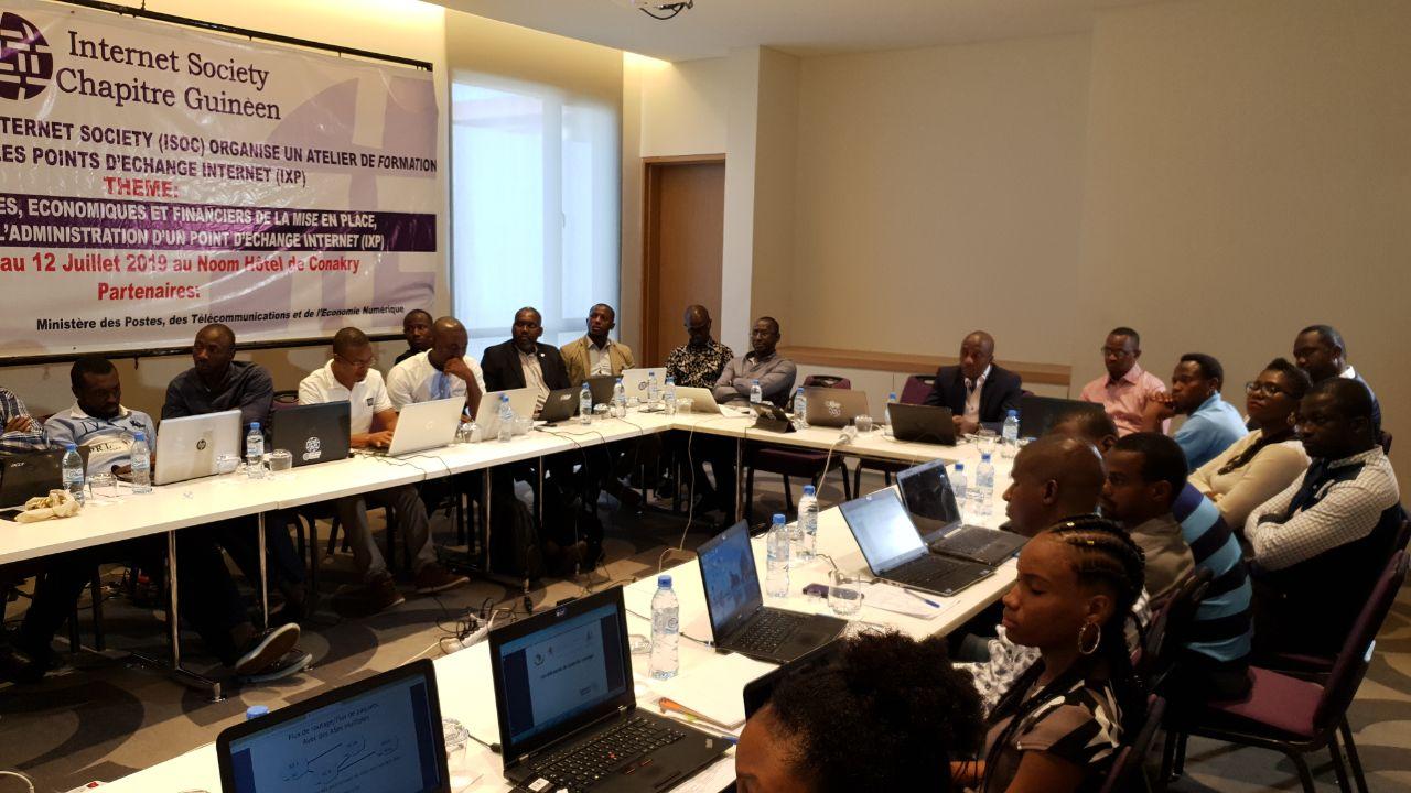 Guinea IXP Workshop