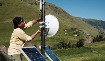 Internet Access for Tusheti