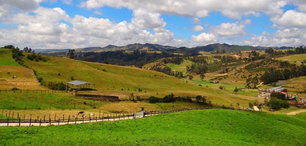 Colombia landscape