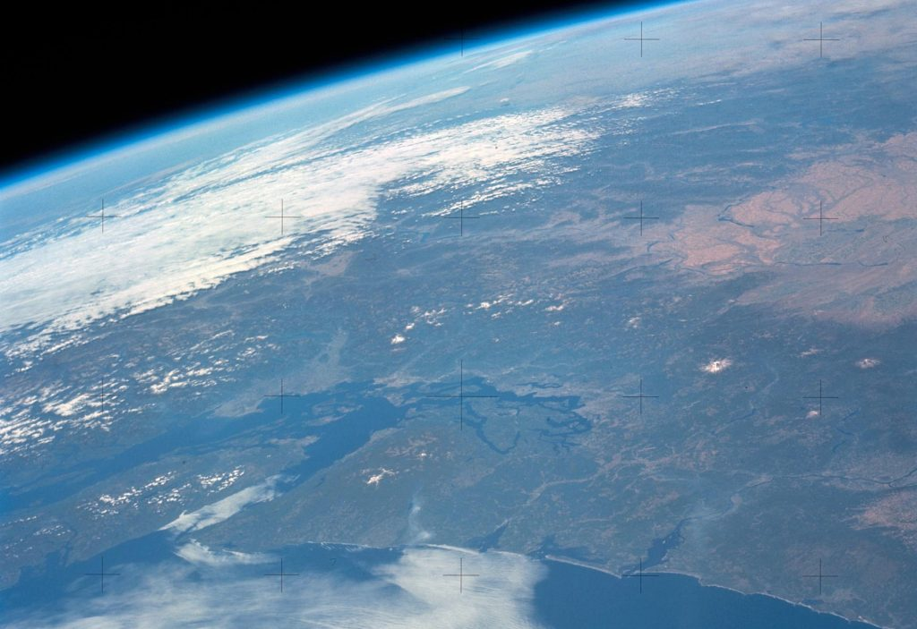 A view of Vancouver from Skylab - photo from NASA