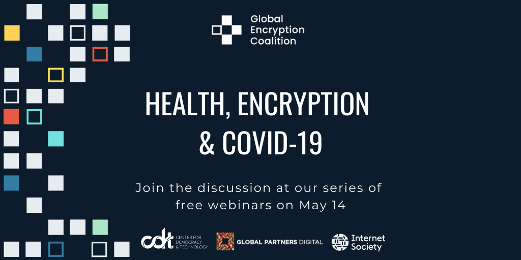 Health, encryption, & COVID-19