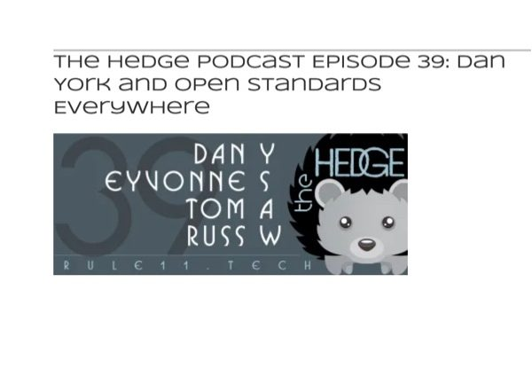 Listen to the Hedge Podcast 39 to Learn about the Open Standards Everywhere Project Thumbnail